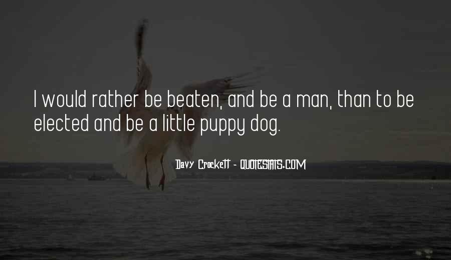 Davy Crockett Quotes #367020