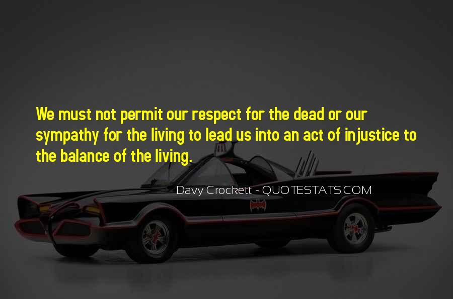 Davy Crockett Quotes #368957