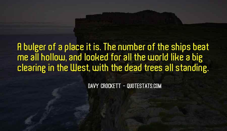 Davy Crockett Quotes #4653