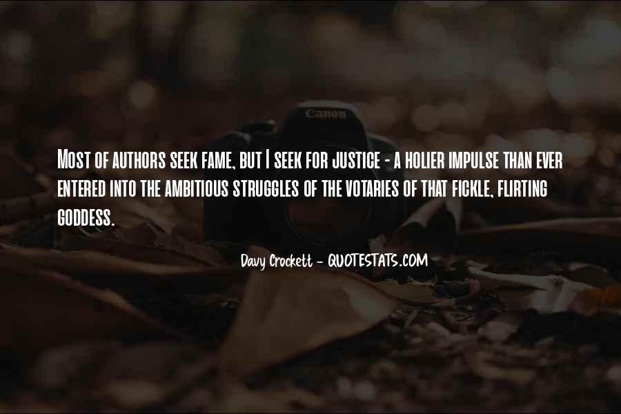 Davy Crockett Quotes #481012