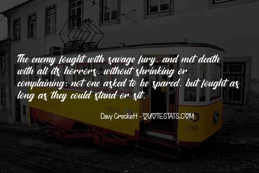 Davy Crockett Quotes #491762