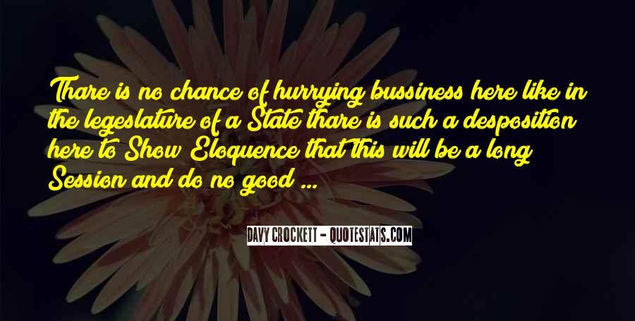 Davy Crockett Quotes #499821