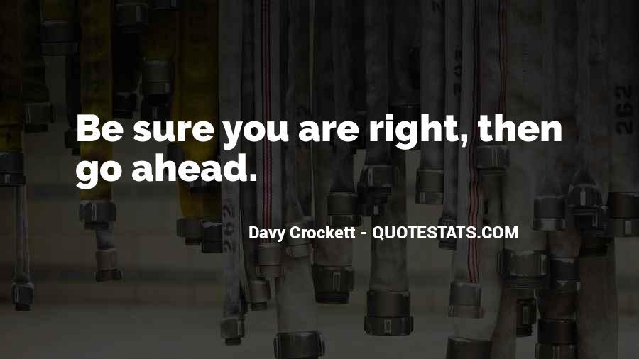 Davy Crockett Quotes #53866