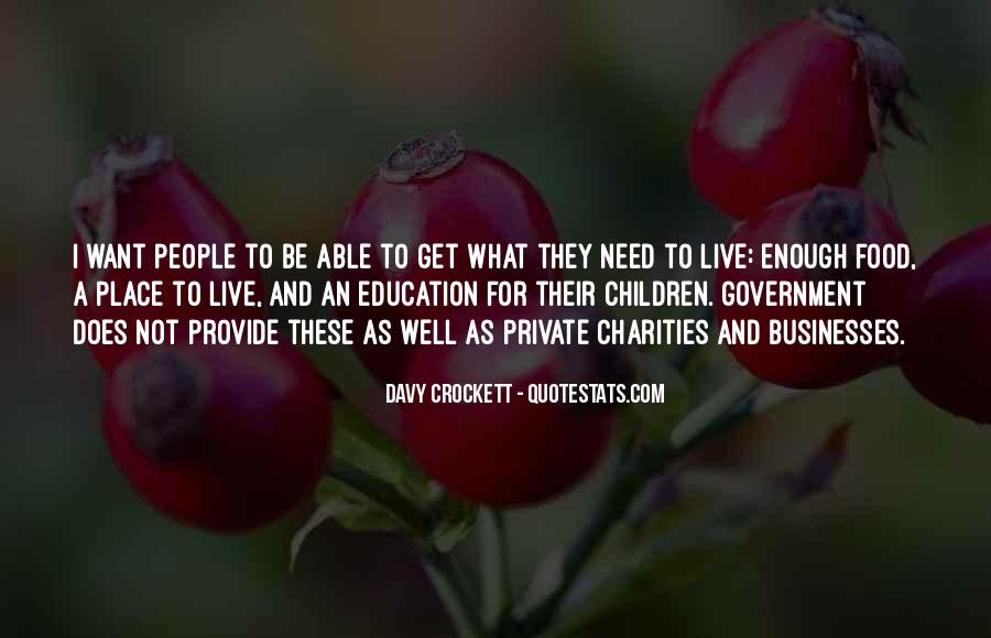 Davy Crockett Quotes #751540
