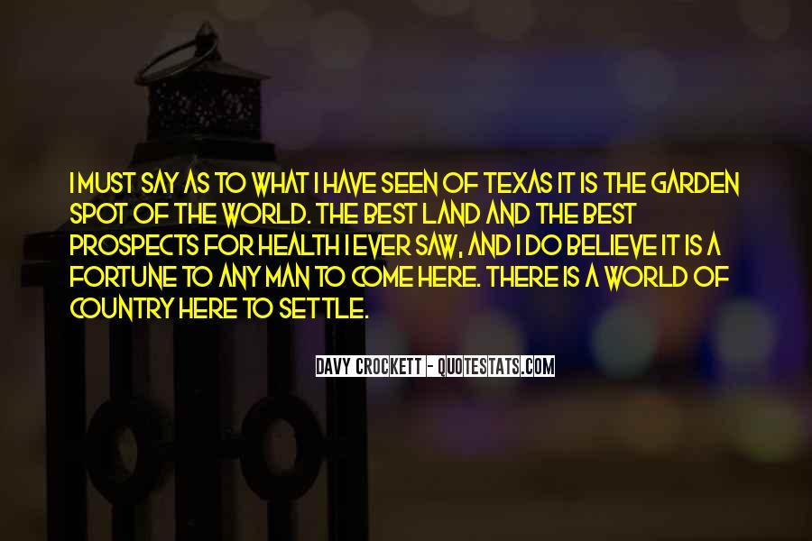 Davy Crockett Quotes #828153