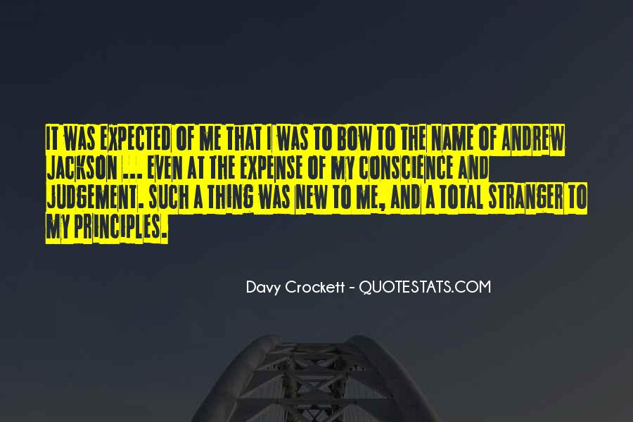 Davy Crockett Quotes #846183