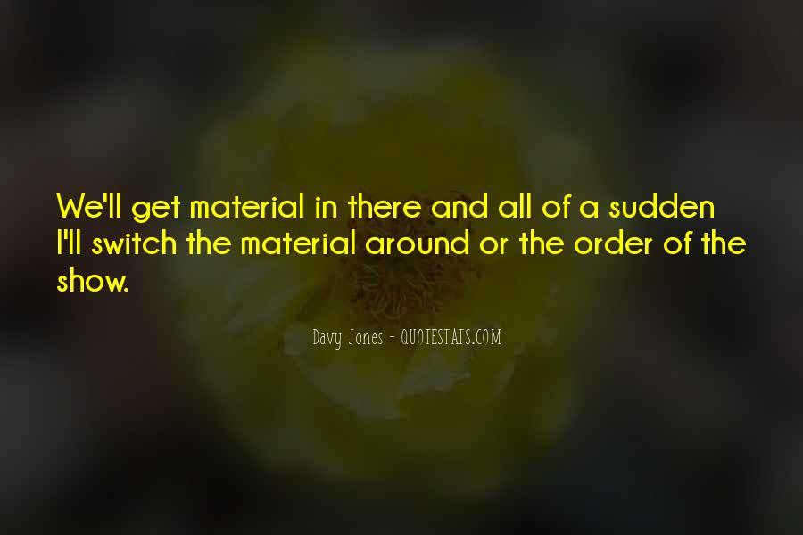 Davy Jones Quotes #1041178