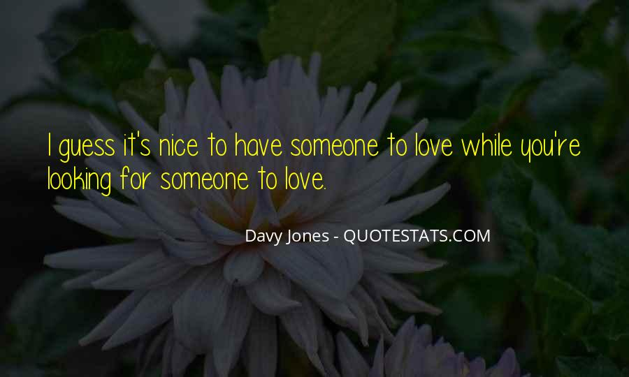 Davy Jones Quotes #1093568
