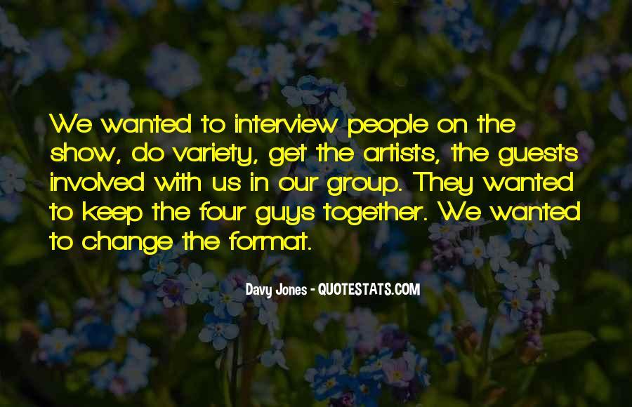 Davy Jones Quotes #1132572