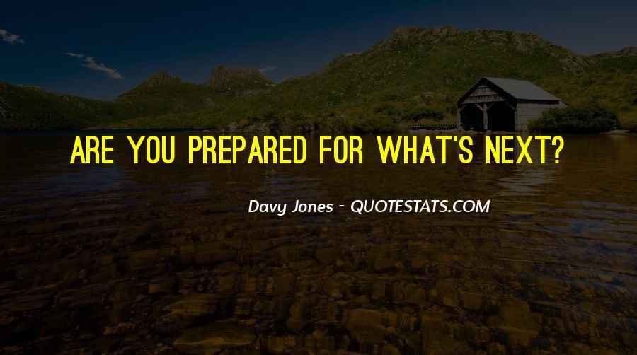 Davy Jones Quotes #1462542