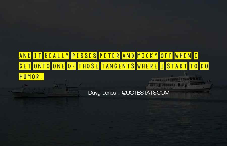 Davy Jones Quotes #1470044