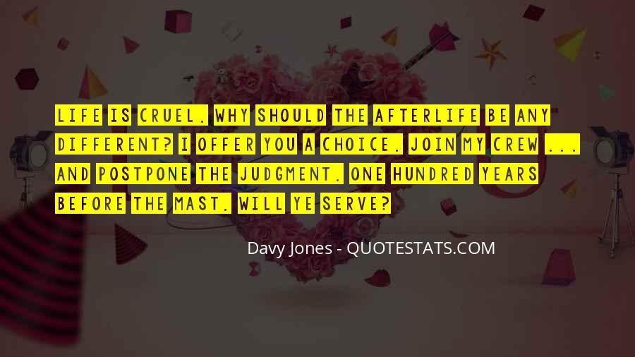 Davy Jones Quotes #1577974