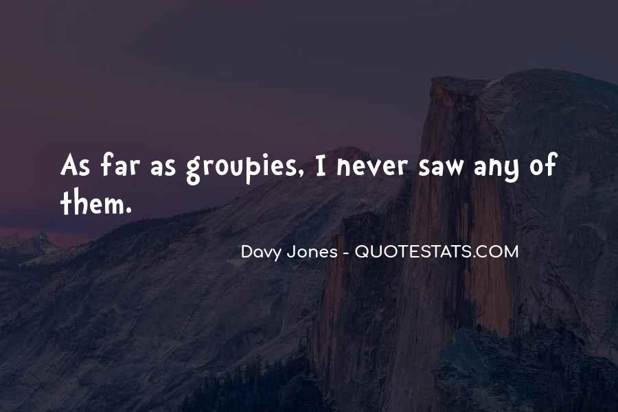 Davy Jones Quotes #552051