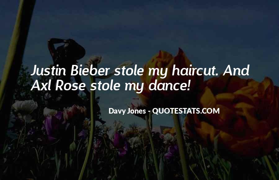 Davy Jones Quotes #771969
