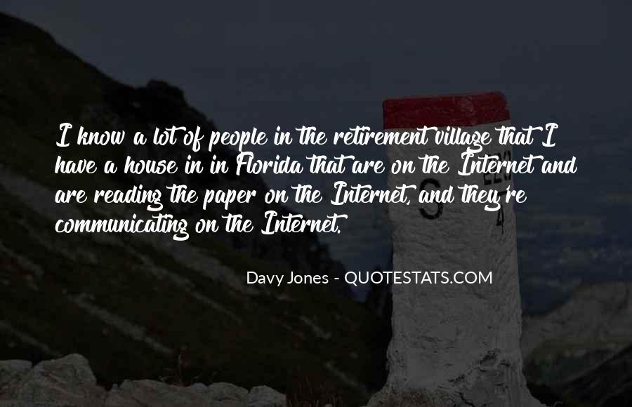 Davy Jones Quotes #800783