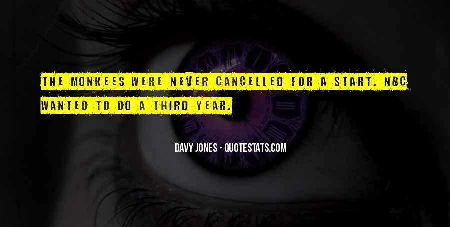 Davy Jones Quotes #833442