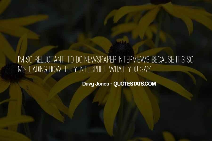 Davy Jones Quotes #954247