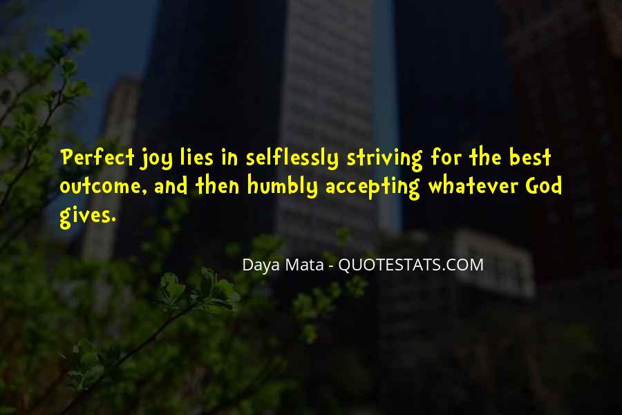 Daya Mata Quotes #1632836