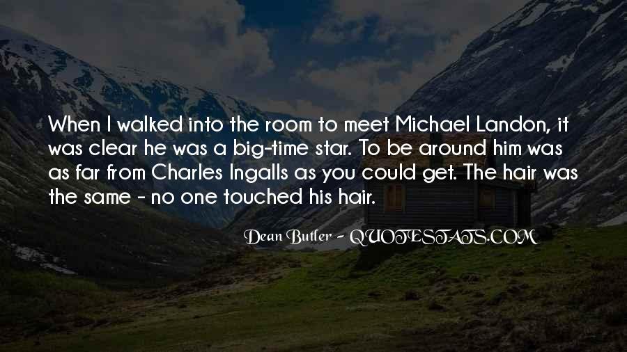 Dean Butler Quotes #1292545