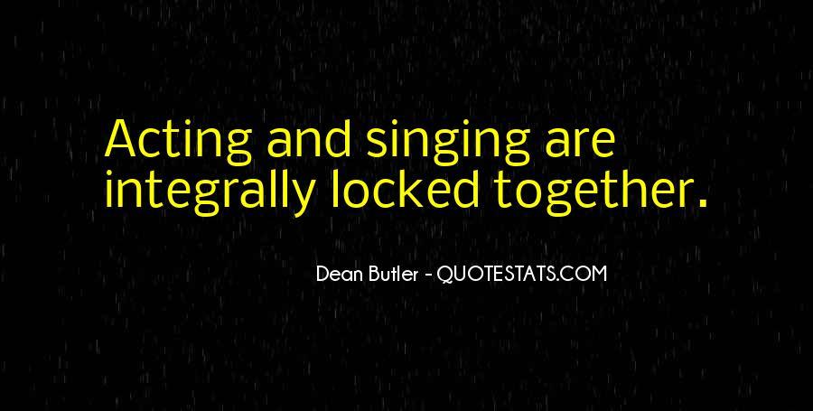 Dean Butler Quotes #396240