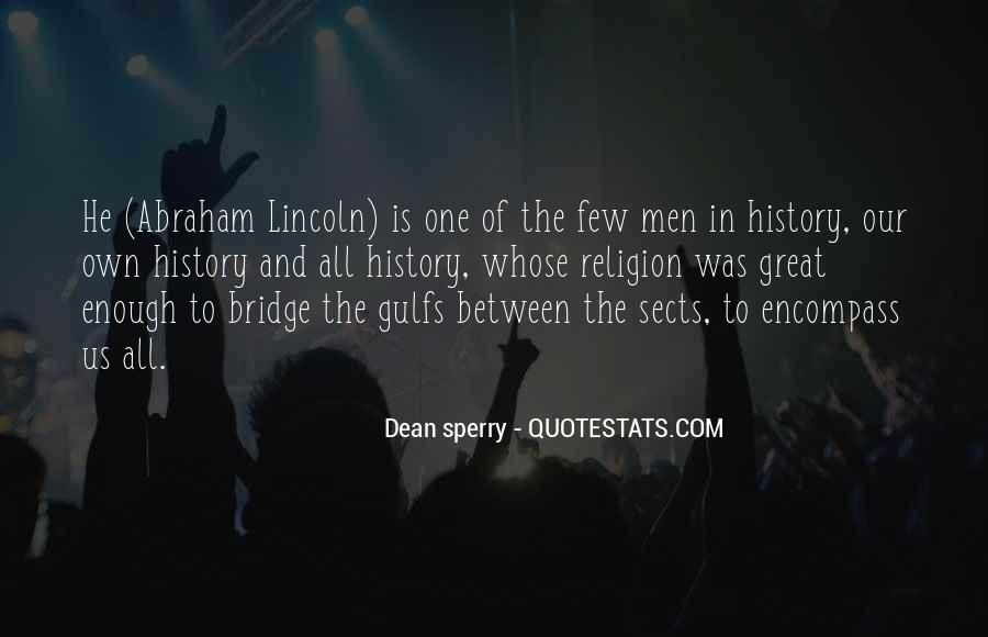 Dean Sperry Quotes #568450