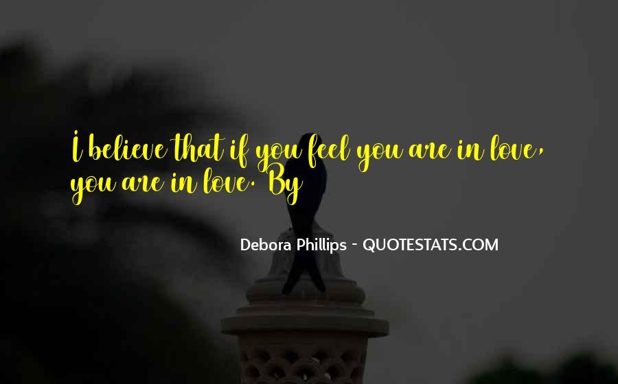 Debora Phillips Quotes #246967
