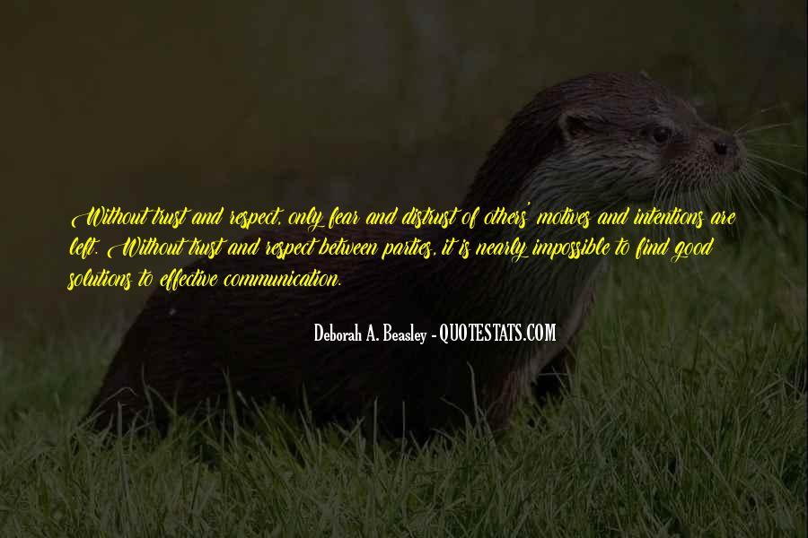 Deborah A. Beasley Quotes #1549436