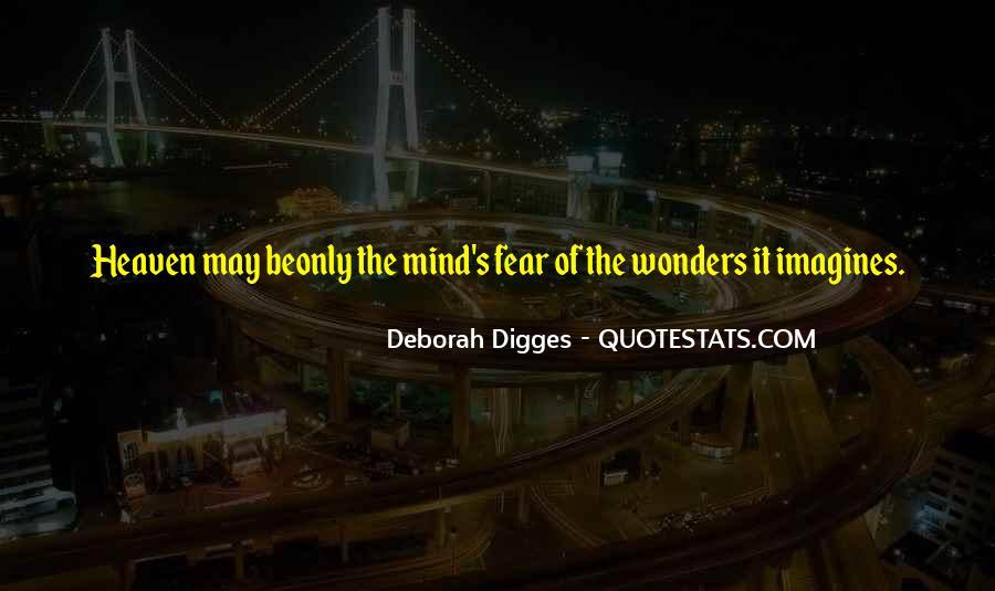 Deborah Digges Quotes #85928
