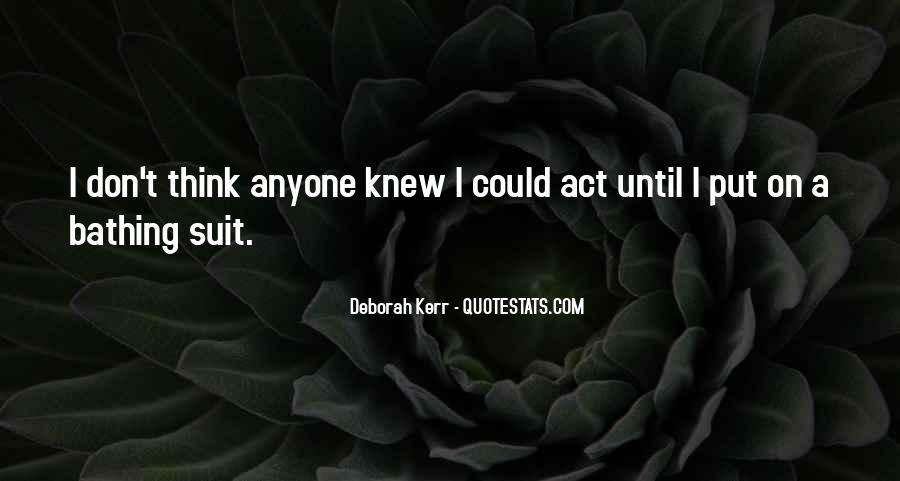Deborah Kerr Quotes #1570709