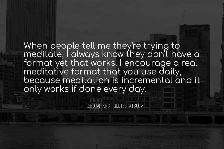 Deborah King Quotes #1612835
