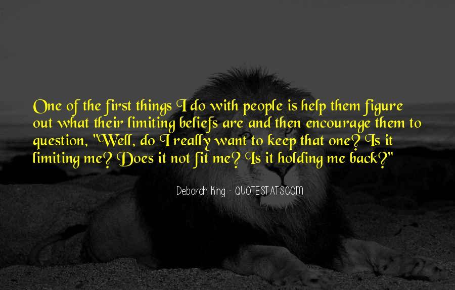 Deborah King Quotes #368574