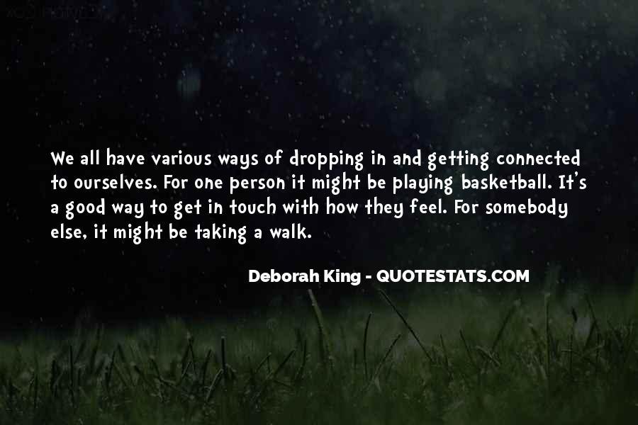 Deborah King Quotes #369459