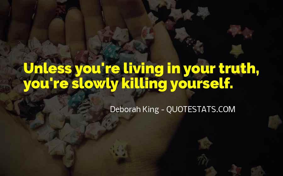 Deborah King Quotes #940294