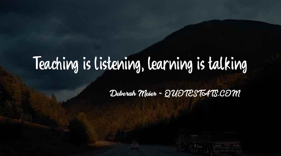 Deborah Meier Quotes #1502881