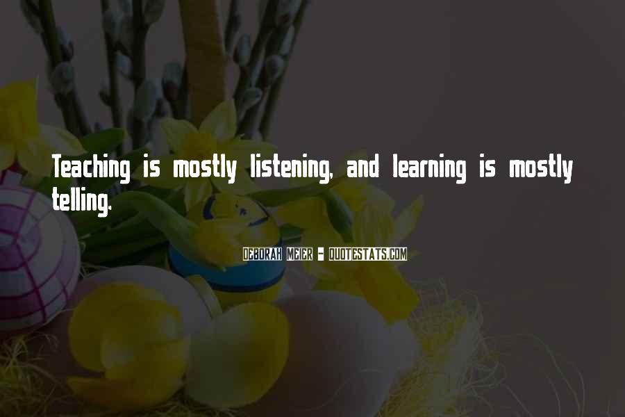 Deborah Meier Quotes #408017