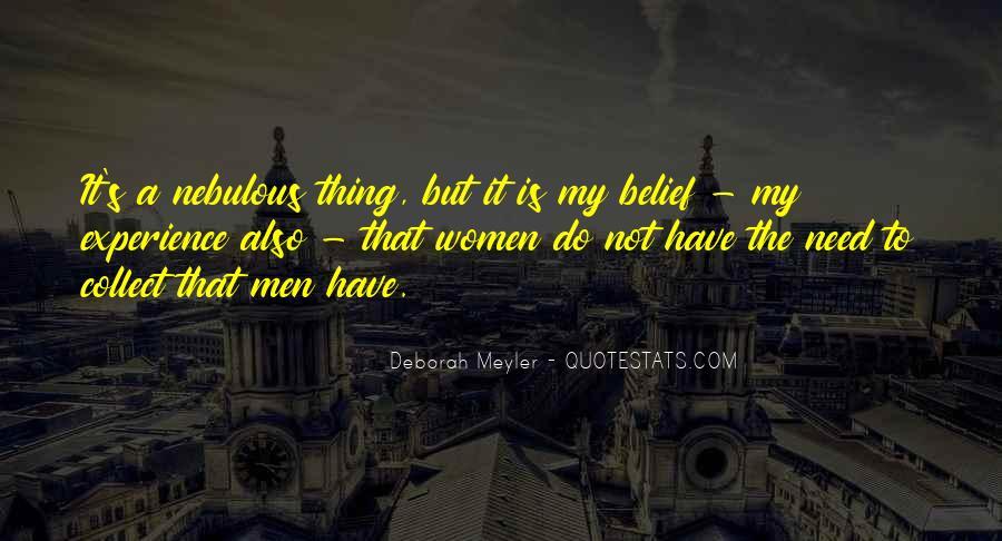 Deborah Meyler Quotes #1094225