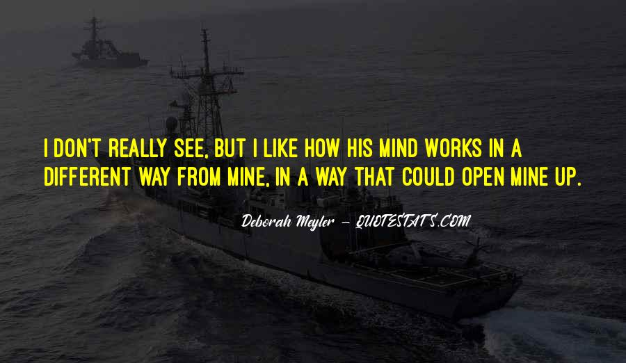 Deborah Meyler Quotes #1737037
