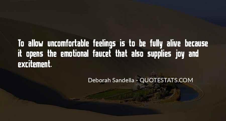 Deborah Sandella Quotes #1461913