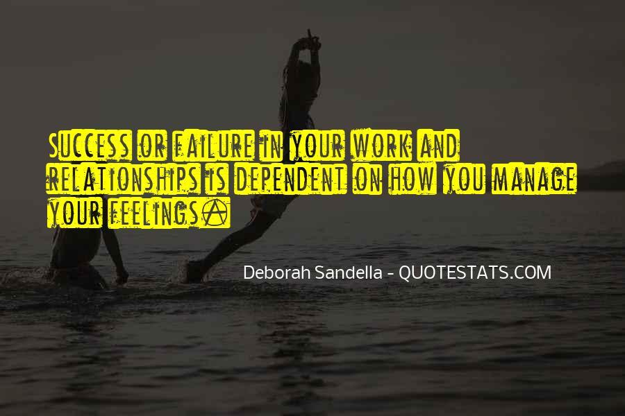 Deborah Sandella Quotes #317064