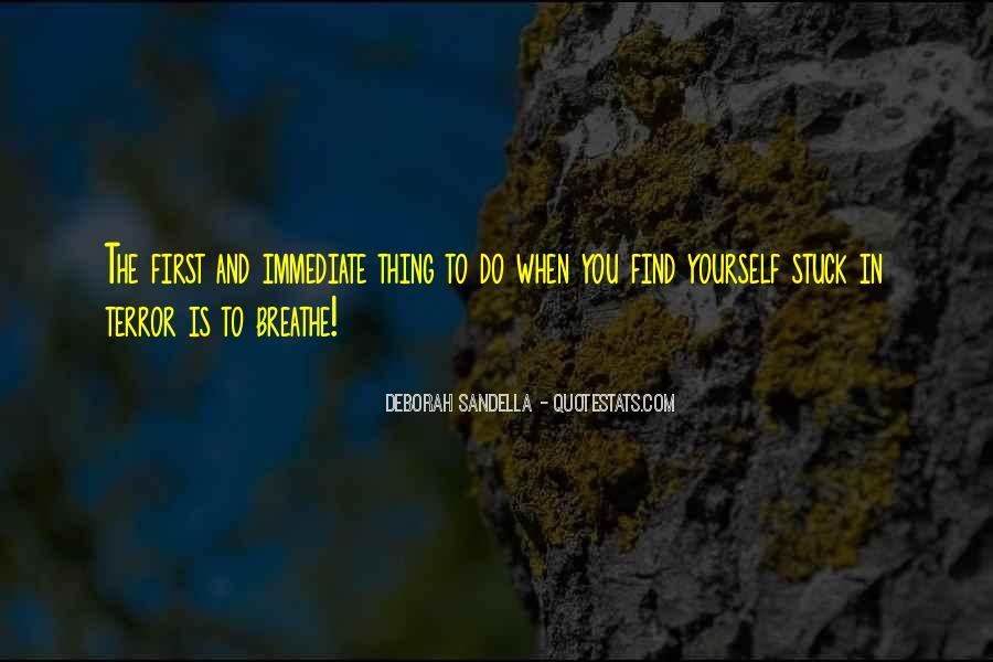 Deborah Sandella Quotes #468678