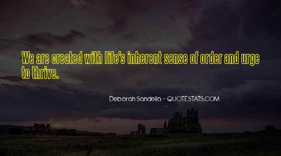 Deborah Sandella Quotes #49006