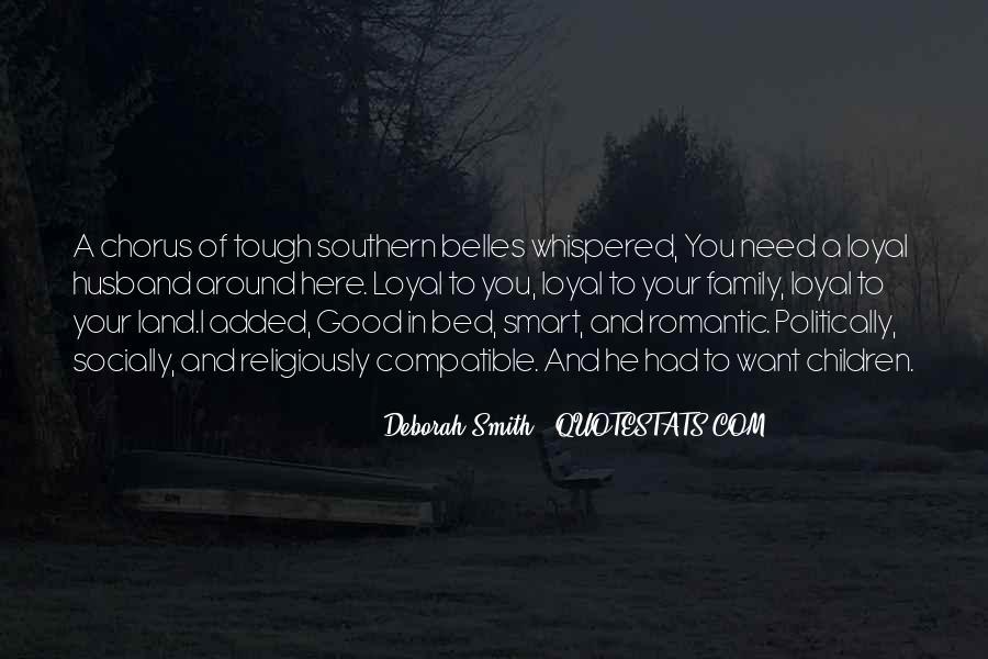 Deborah Smith Quotes #124688