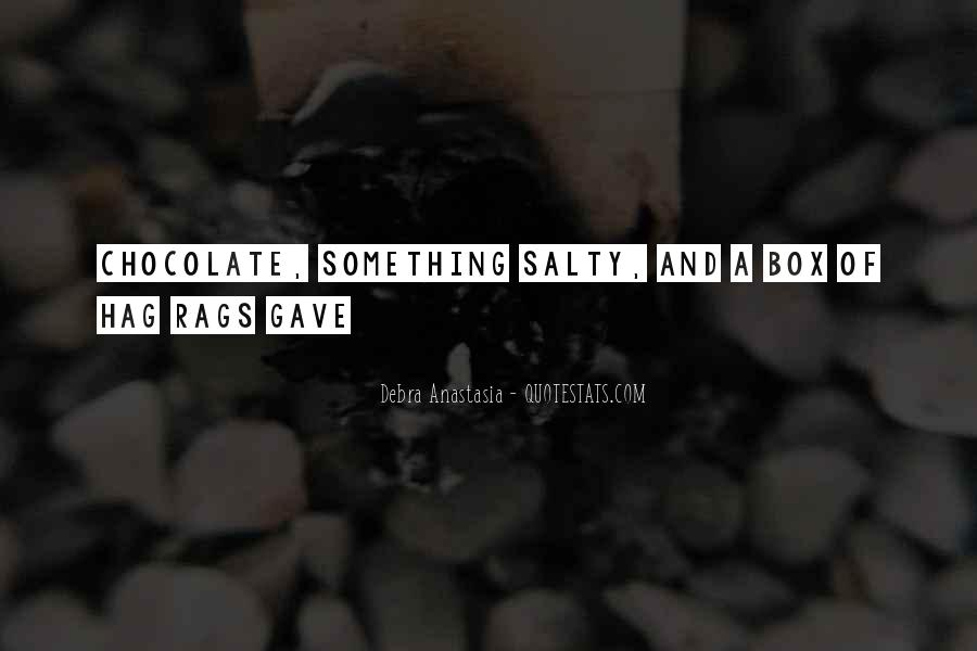 Debra Anastasia Quotes #1295934