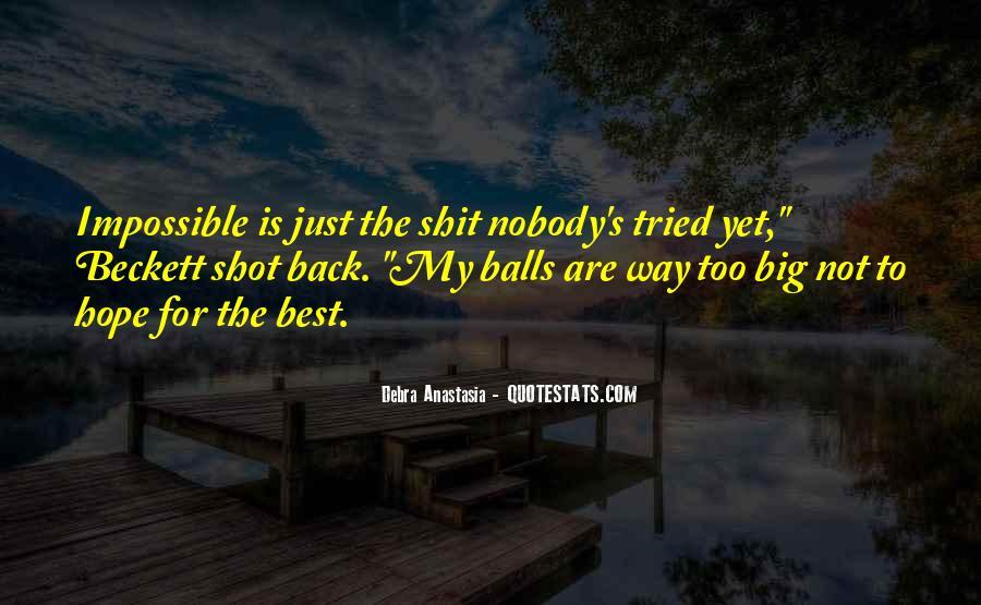 Debra Anastasia Quotes #1422659