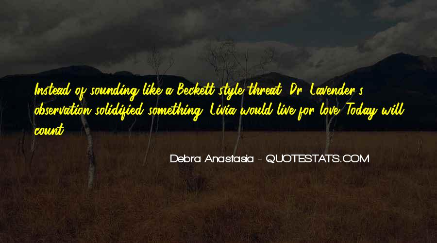 Debra Anastasia Quotes #246133