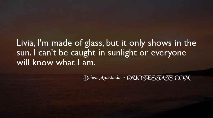 Debra Anastasia Quotes #544368