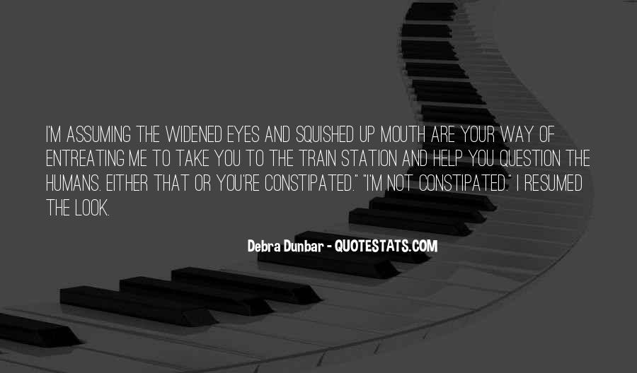 Debra Dunbar Quotes #356704