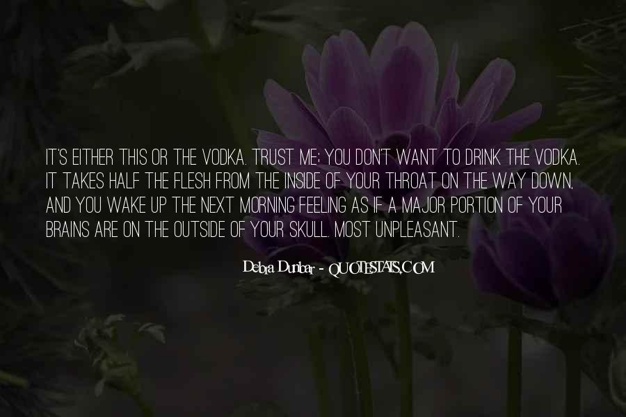 Debra Dunbar Quotes #539774
