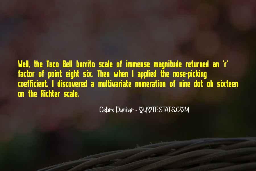 Debra Dunbar Quotes #913087