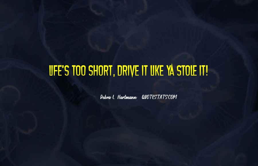 Debra L. Hartmann Quotes #486236
